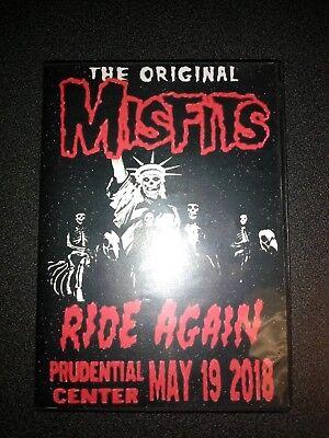 Misfits Live Newark New Jersey Dvd 2018 Prudential Center