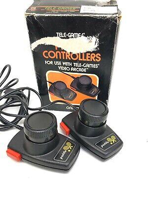 Tele-Games Atari Set of Paddle Controllers in box