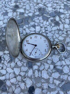 *Fully Serviced* 1900 Omega Grand Prix Paris pocket watch 50mm works excellent.