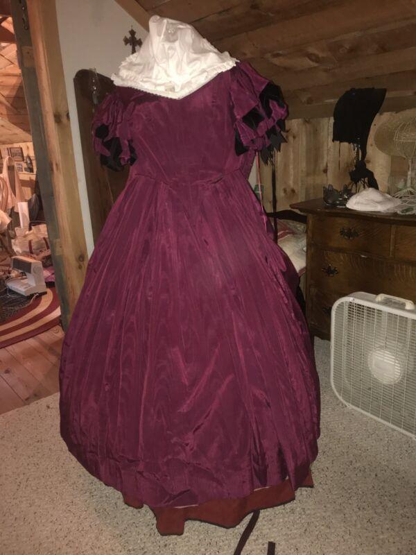 Civil War Era Ball Gown, Beth Miller