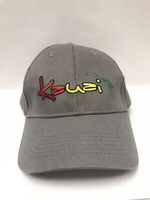 Kauai Hawaiian Headwear Snapback Hat Baseball Rasta Surf Coffee Tikki Worn Twice