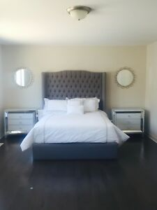 Custom designed Bed-Matress included