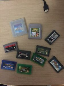 Various Gameboy and Gameboy Advance games