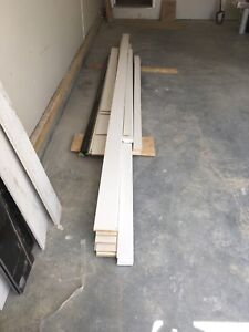 Baseboard and casing