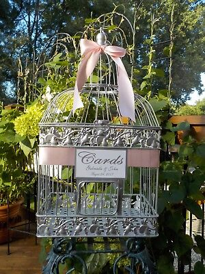 Wedding Cards Money Holder Wedding Card Box Bird Cage, Bridal Shower Supplies