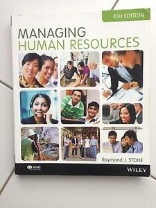 Managing Human Resources 4th ed textbook Bligh Park Hawkesbury Area Preview