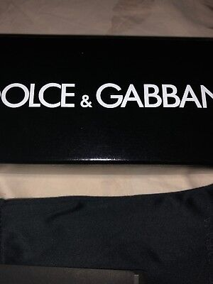 DOLCE & GABBANA Empty glasses Box 6.8 x 2.8 x 2.5 Dust Bag Certificate for sale  New York