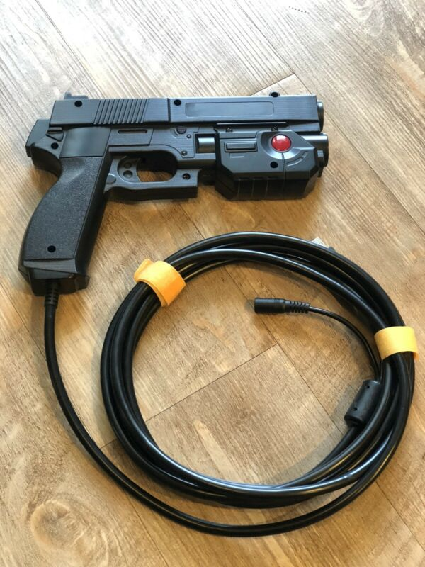 Ultimarc AimTrak Arcade Light Gun BLACK With RECOIL for MAME,Win,PS2