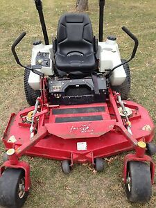 Exmark Lazer Z zero turn riding mower, 27 hp Kohler engine, 60'' mower