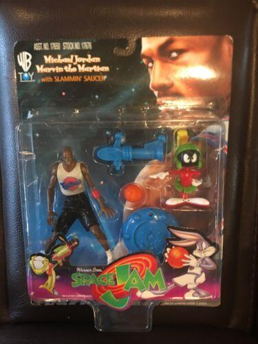 Space Jam Michael Jordan And Marvin The Martian Figures