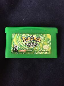 Pokemon Leaf Green (super rare)