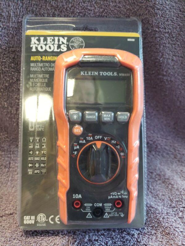 Klein Tools MM400 600V Digital Multimeter NEW SEALED
