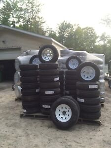 NEW Trailer Tire & Rim Assembly's