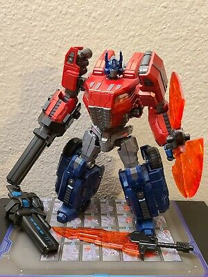 Planet X Jupiter  3rd Party Fall Of Cybertron Optimus Prime + extra weapon