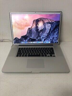 "Apple MacBook Pro 8,3 17"" (2011) Laptop Intel i7 2.3Ghz 16GB 500GB 1920x1200 B16"