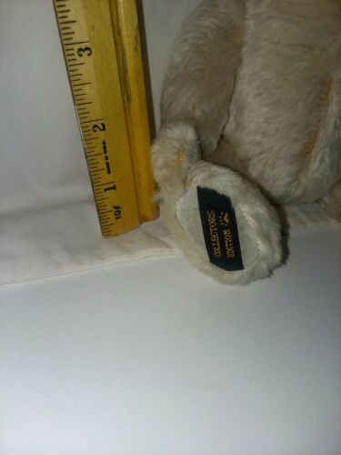 Boyds Mohair Collectors Edition 8 Inch Bear Shows Wear On Left Arm Pad - $11.99