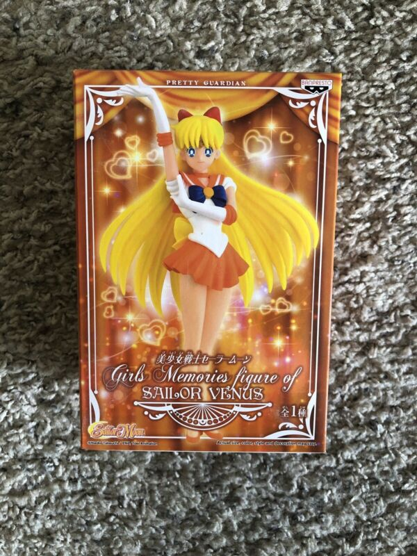 Banpresto Sailor Moon Anime Girls Memories Heroine Figure Sailor Venus Brand New