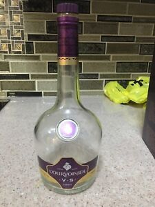Empty bottle  courvoisier