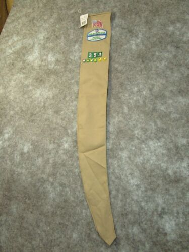 Girl Scout U.S.A. Sash With Buttons 6 Stars Middle TN 353 Current