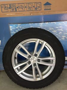 Winter tires and rims for salel