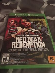 Red dead redemption Xbox one/Xbox 360