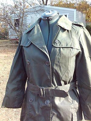 (WAC)  Women's Army Corps Havlock and Raincoat, size 16R