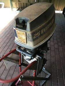 Evinrude Long Shaft 25hp Motor Pooraka Salisbury Area Preview