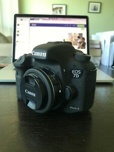 Canon EOS-7D MK II Body with 24mm lens