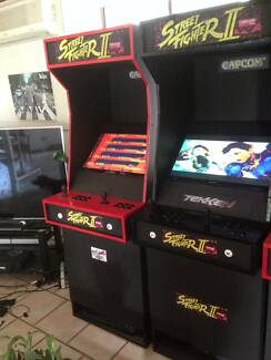 Street Fighter ll Arcade Machines Black Edition and Standard Warnbro Rockingham Area Preview