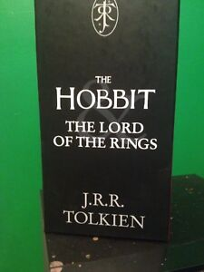 The hobbit/lord of the rings book set