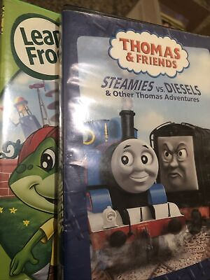 Thomas the Tank Engine - Steamies vs. Diesels Other Thomas Adventures (DVD,...