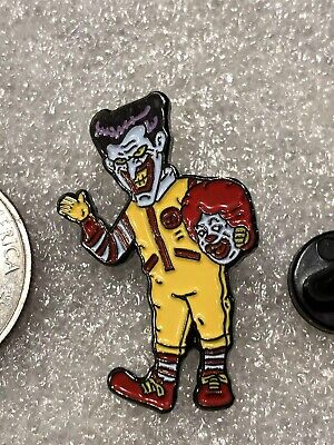 DC The Joker Dressed in a Ronald McDonald Costume Lapel Pin Free Ship In USA](Mcdonald Costume)