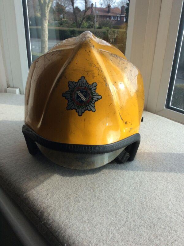 Obsolete Merseyside Fire Brigade Helmet