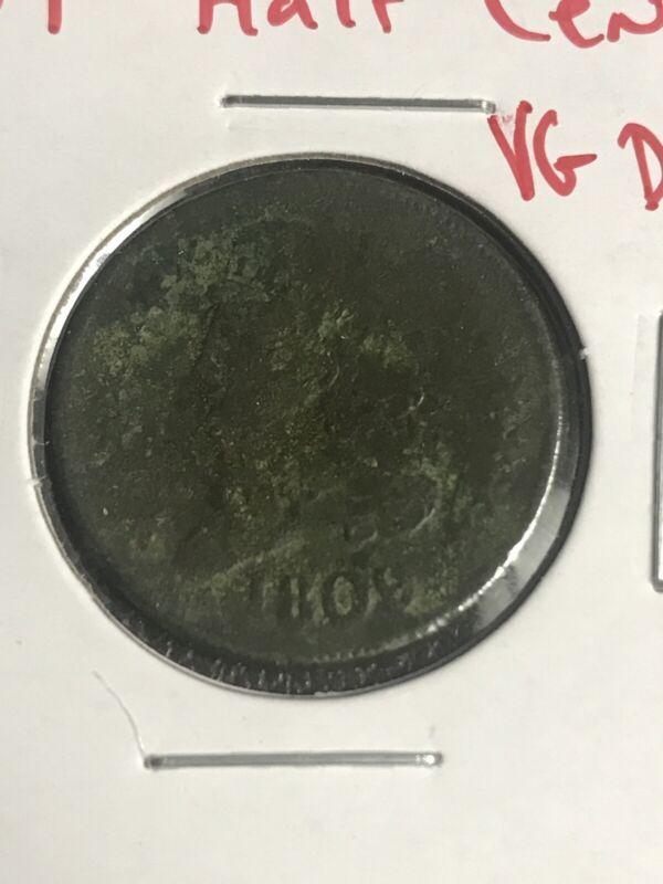 1809 Half Cent. Vg Details