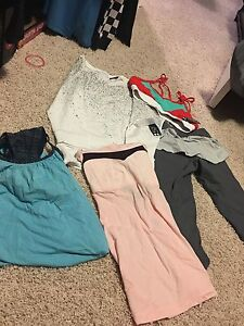 NWT clothes from split 59, lululemon and anthro