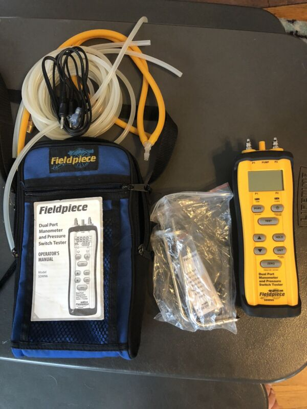 Fieldpiece SDMN6 -  Dual Port Manometer and Pressure Switch Tester
