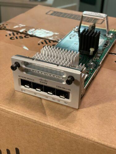 Cisco Catalyst 3850 & 9300 3850-NM-2-10G 10G Network Expansion Module SFP+