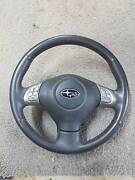 Wrx sti leather steering wheel Werribee Wyndham Area Preview