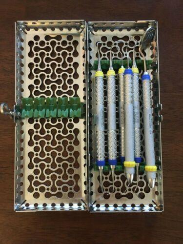 Hu- Friedy dental hygiene instruments: Sickles, Curette, Mirror, Probe, Explorer