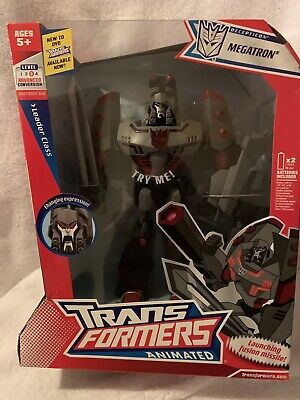 NIB Hasbro Transformers Animated Leader: Megatron Action Figure