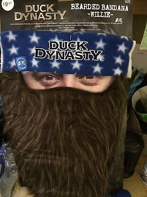 Duck Dynasty Bearded Bandana Willie