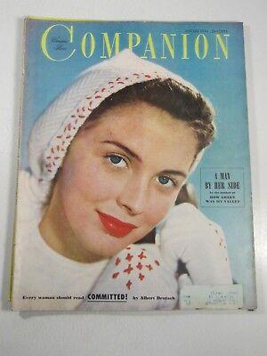 Woman's Home Companion Magazine- January 1950- A Man By Her Side