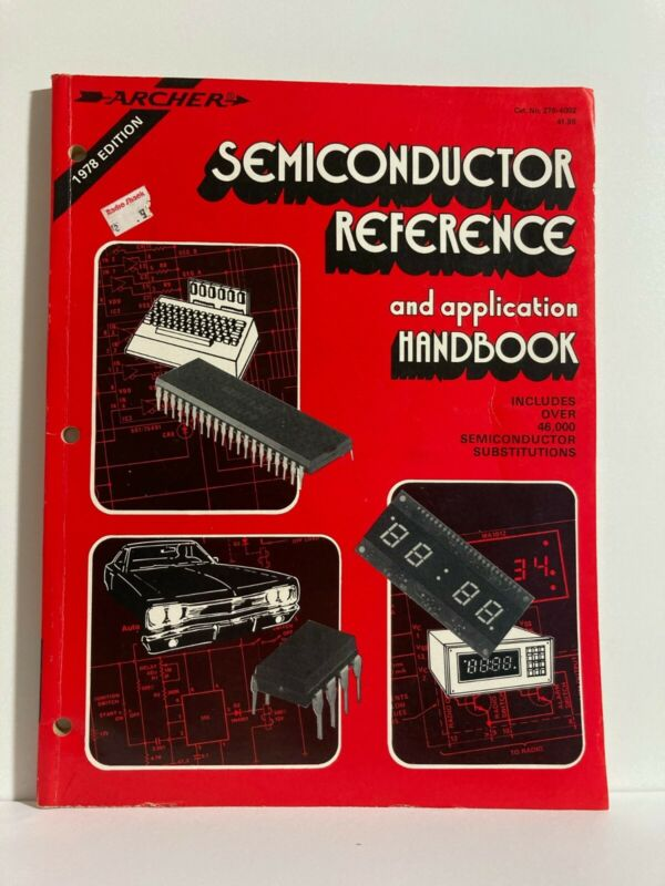 Vintage Archer Semiconductor Reference and Application Handbook (1978)