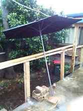 Patio umbrella Engadine Sutherland Area Preview