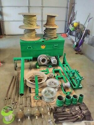 Greenlee 640 Cable Tugger Puller 4000 Lbs
