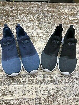 Adidas Running Shoes Women -  Adidas Women's Cloudfoam Lite Racer Slip On Womens Running Shoes - Black / Navy