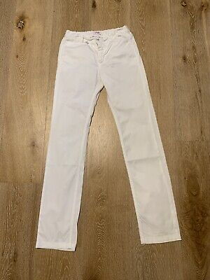 Il Gufo White Smart Casual Chino Trousers 12 Yrs Old