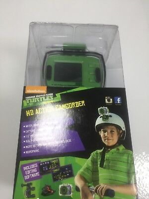 TMNT Teenage Mutant Ninja Turtles HD Action Camcorder Bike Video Helmet Camera