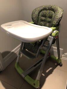 Peg Perego baby high chair/chaise haute