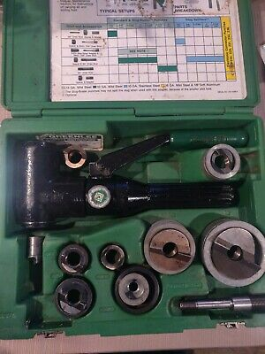Greenlee 7906sb Quick Draw 90 Hydraulic Punch Driver Kit 12 - 2 7904 3651